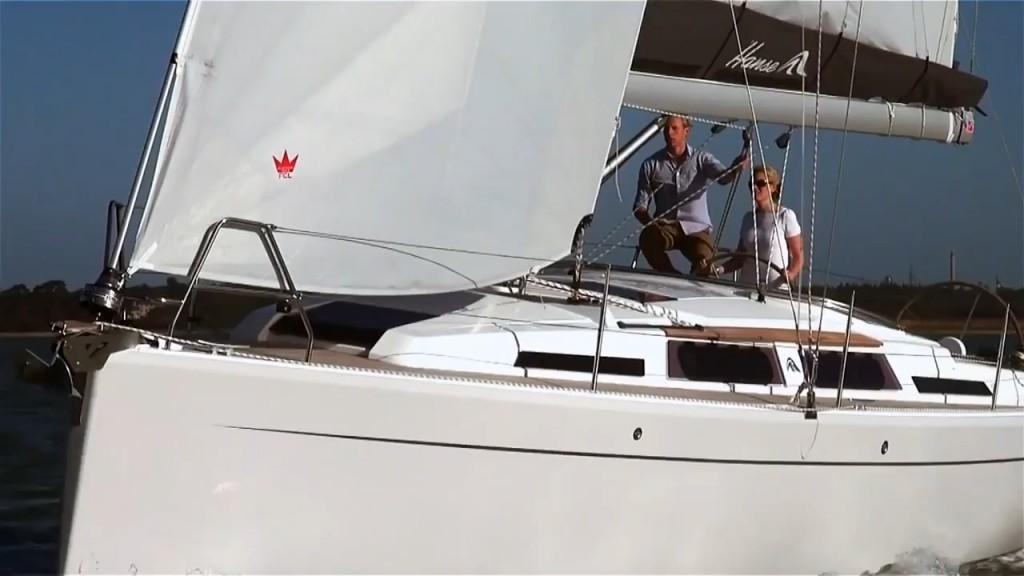 Hanse 345 sail